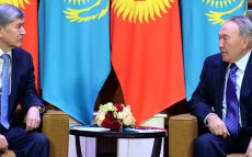 Meeting with President of the Kyrgyz Republic Almazbek Atambayev
